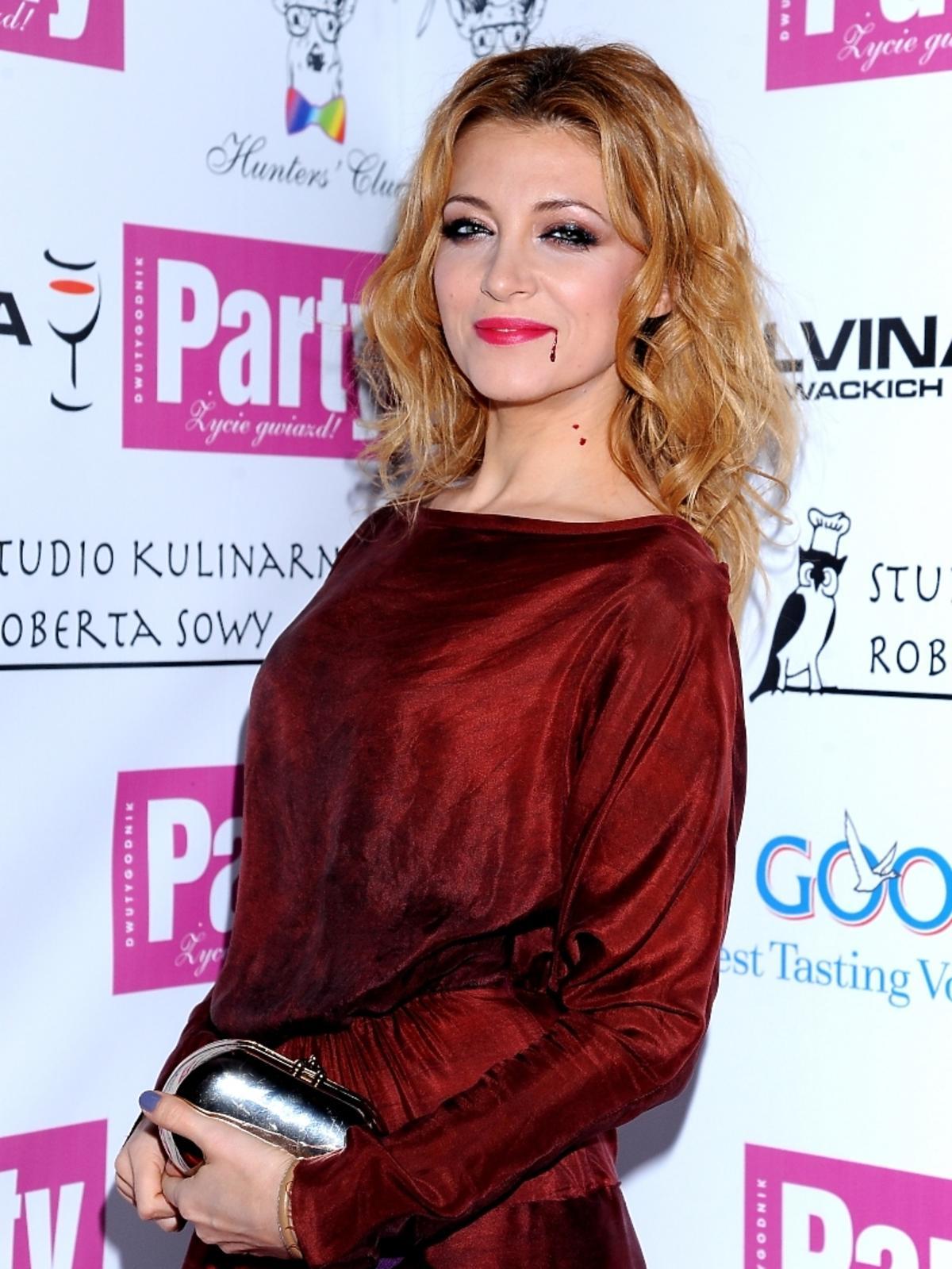 Ada Fijał w Halloween 2011