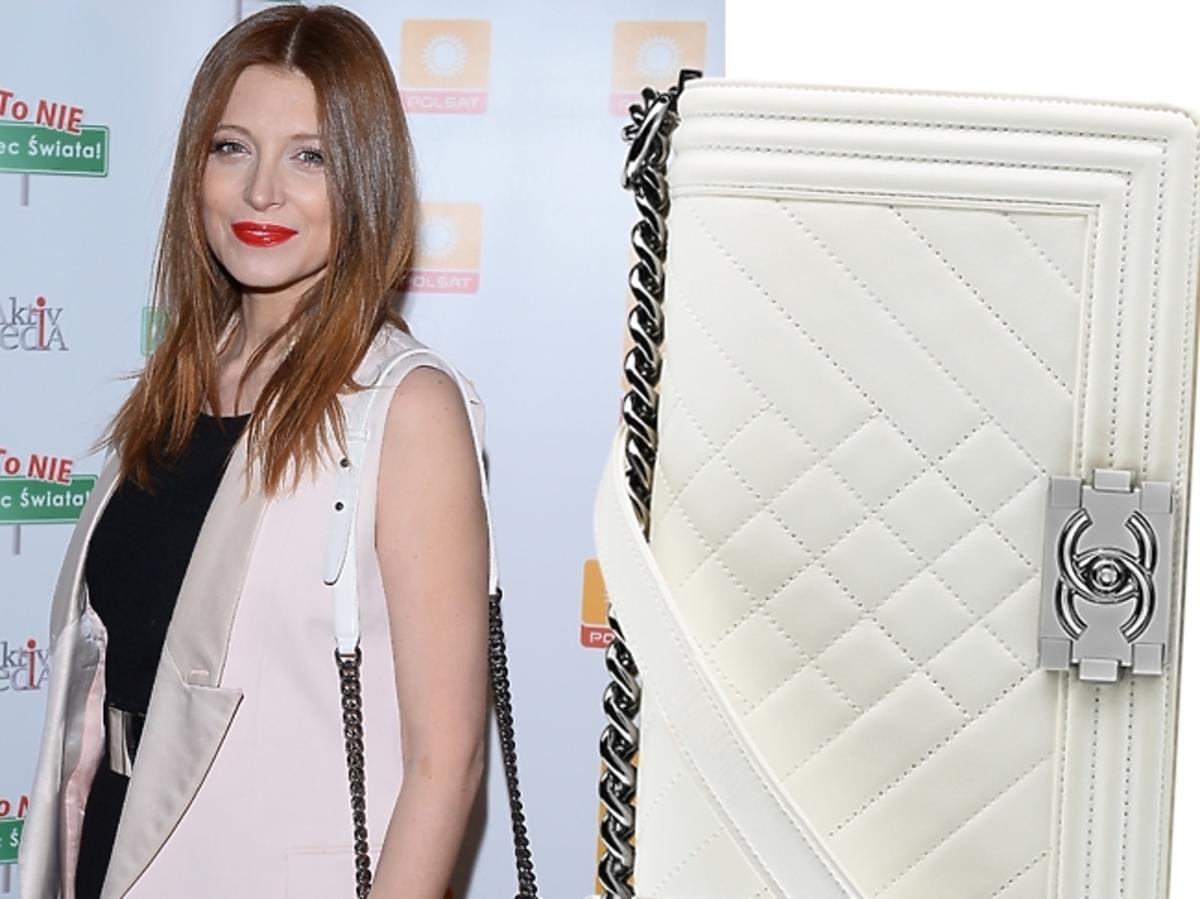 Ada Fijał z torebką Chanel