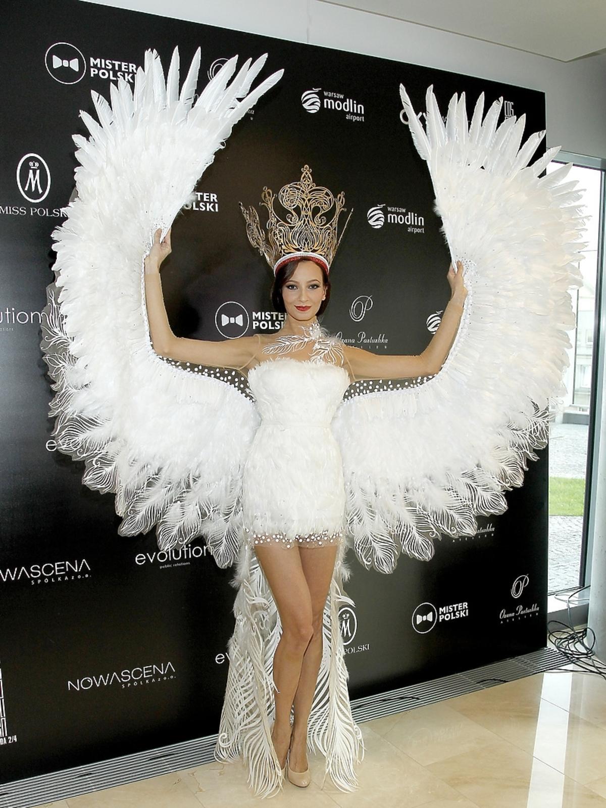 Ada Sztajerowska na konferencji Miss i Mistera Polski