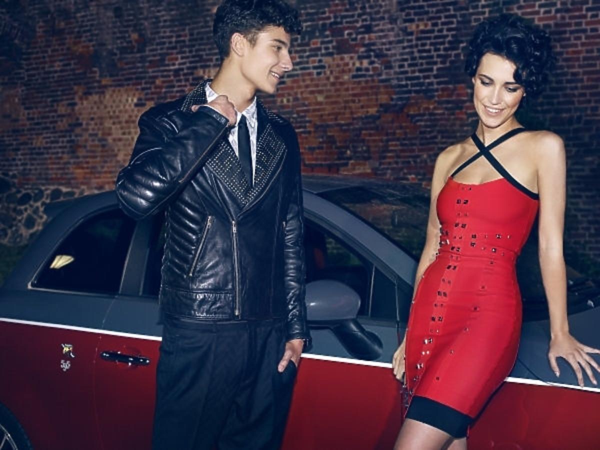 Adam Boguta i Michalina Strabel w sesji po włosku w Top Model