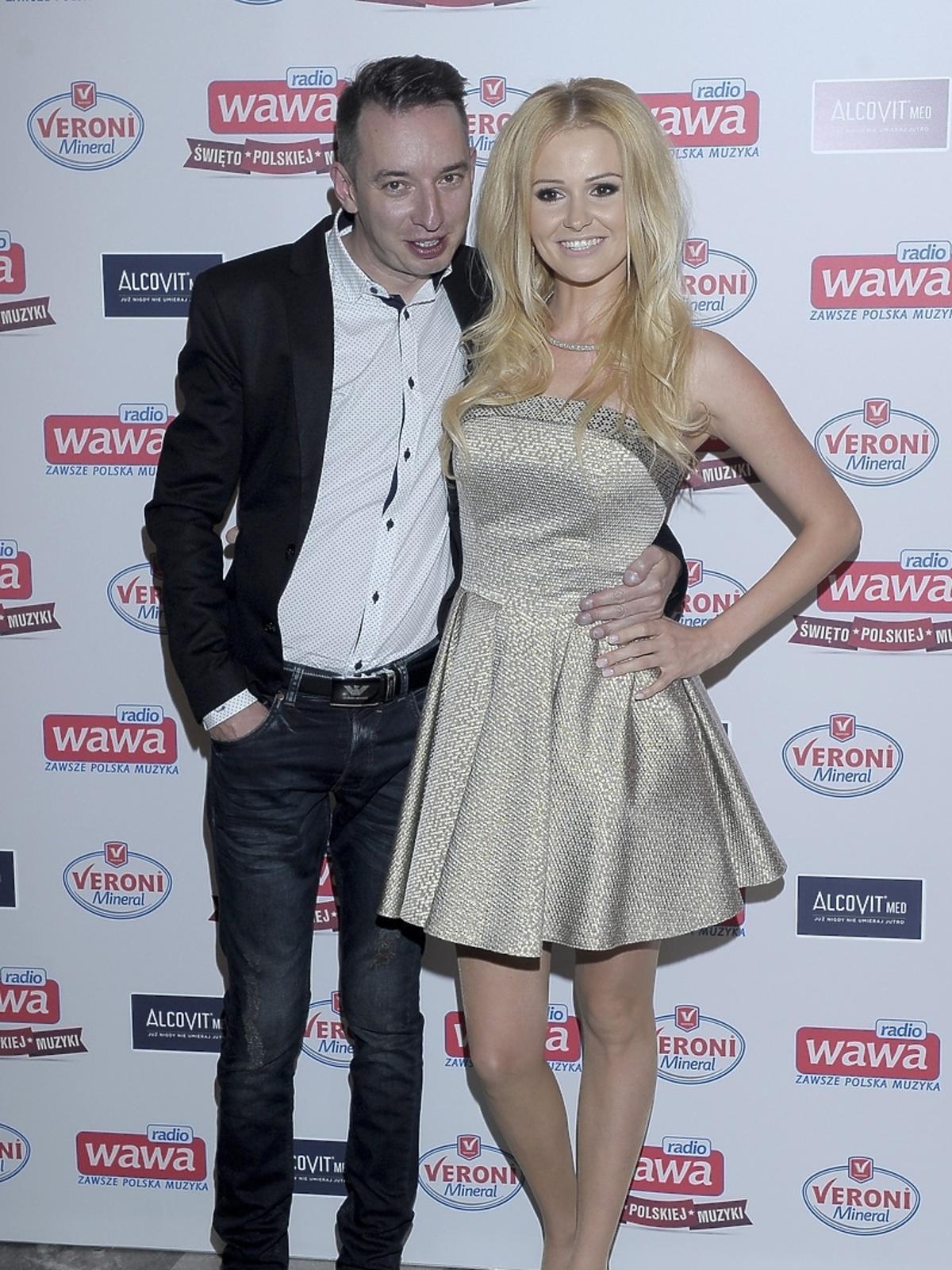 Adam i Angelina Konkol na urodzinach Radia WAWA