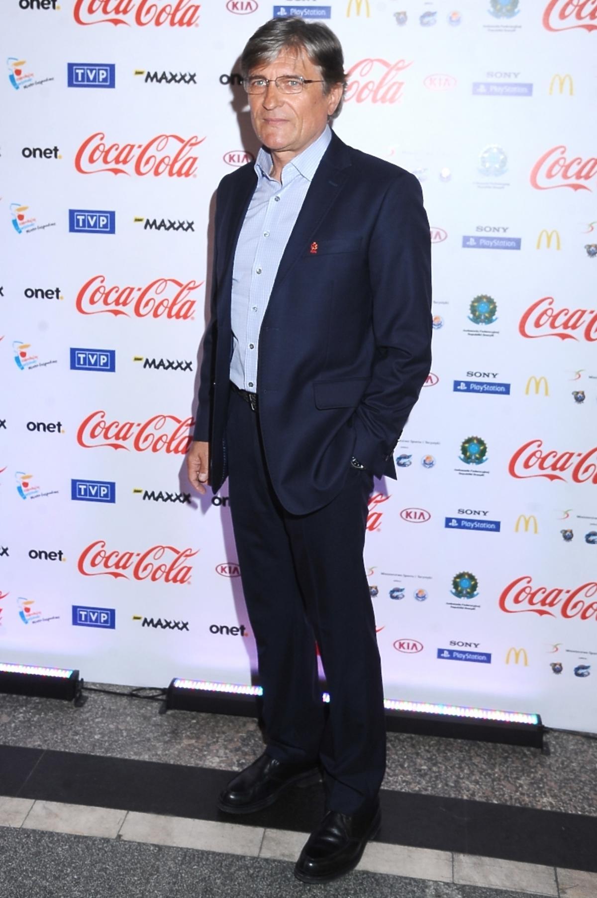 Adam Nawałka na Gali VIP Pucharu FIFA w Polsce