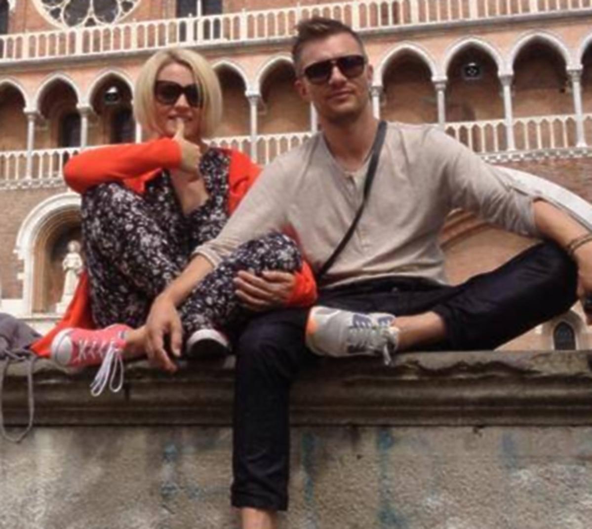 Adam Sztaba i Dorota Szelągowska na wakacjach we Włoszech
