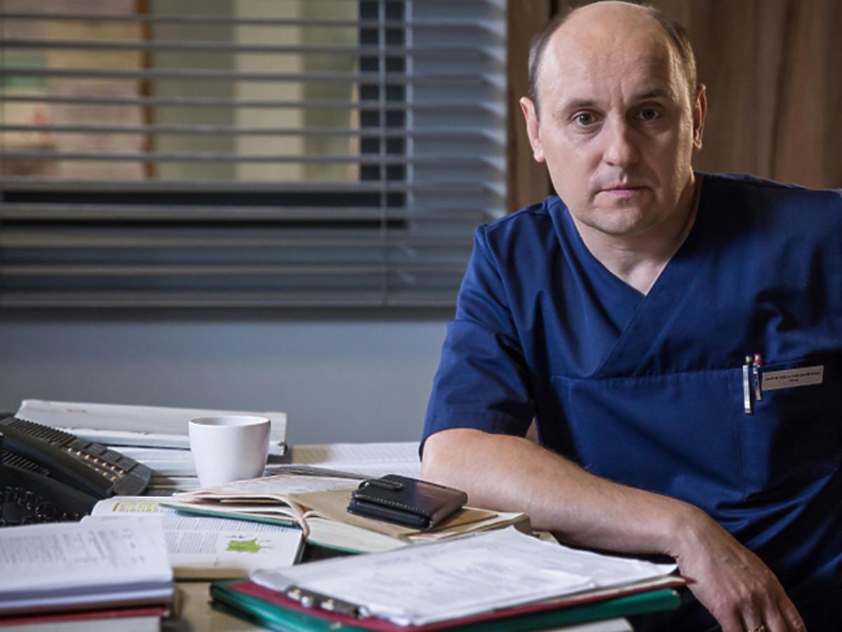 Adam Woronowicz o roli w Diagnozie