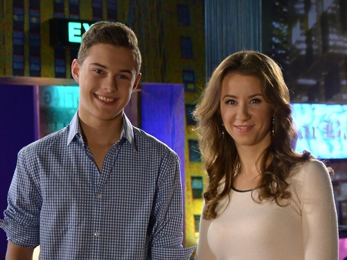 Adam Zdrójkowski, Katarzyna Ankudowicz na planie Pierwszej Miłości