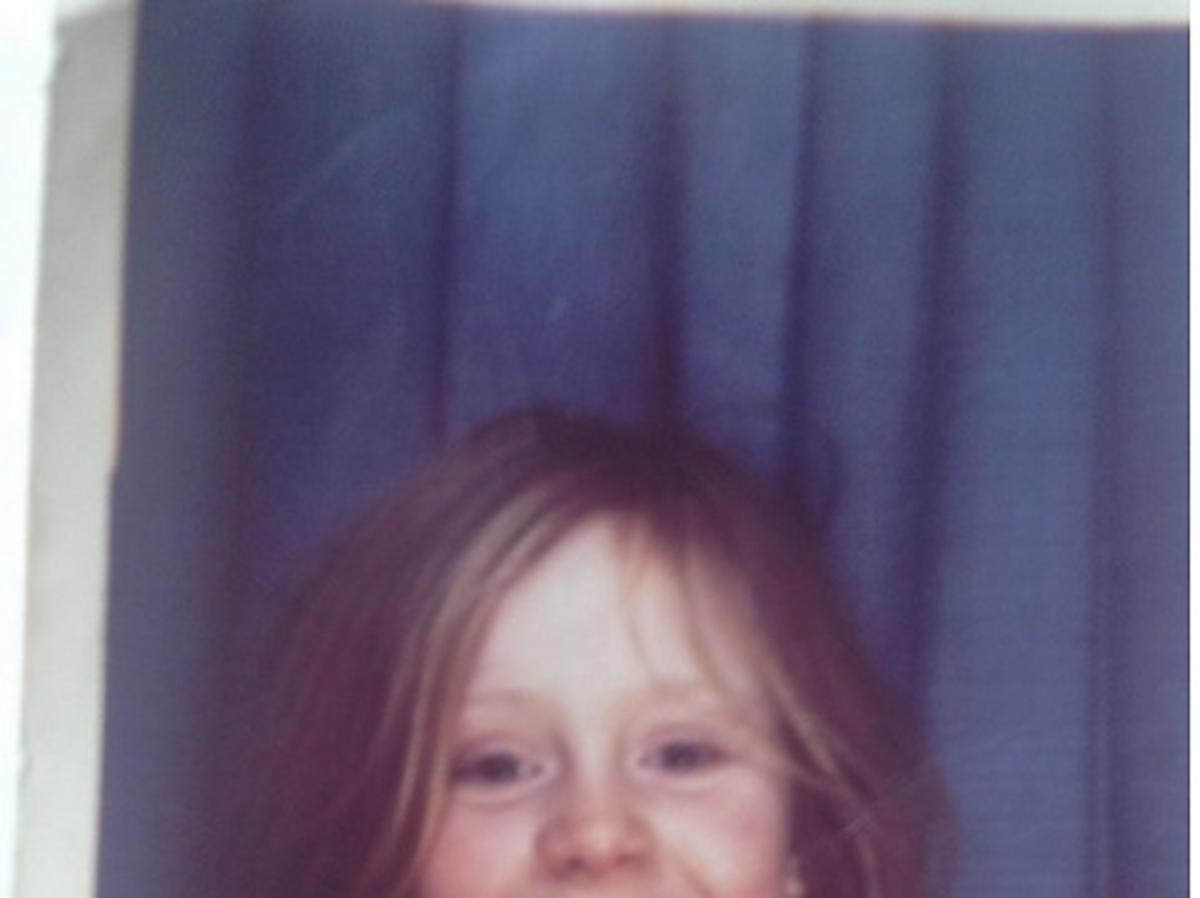 Adele jako mała dziewczynka