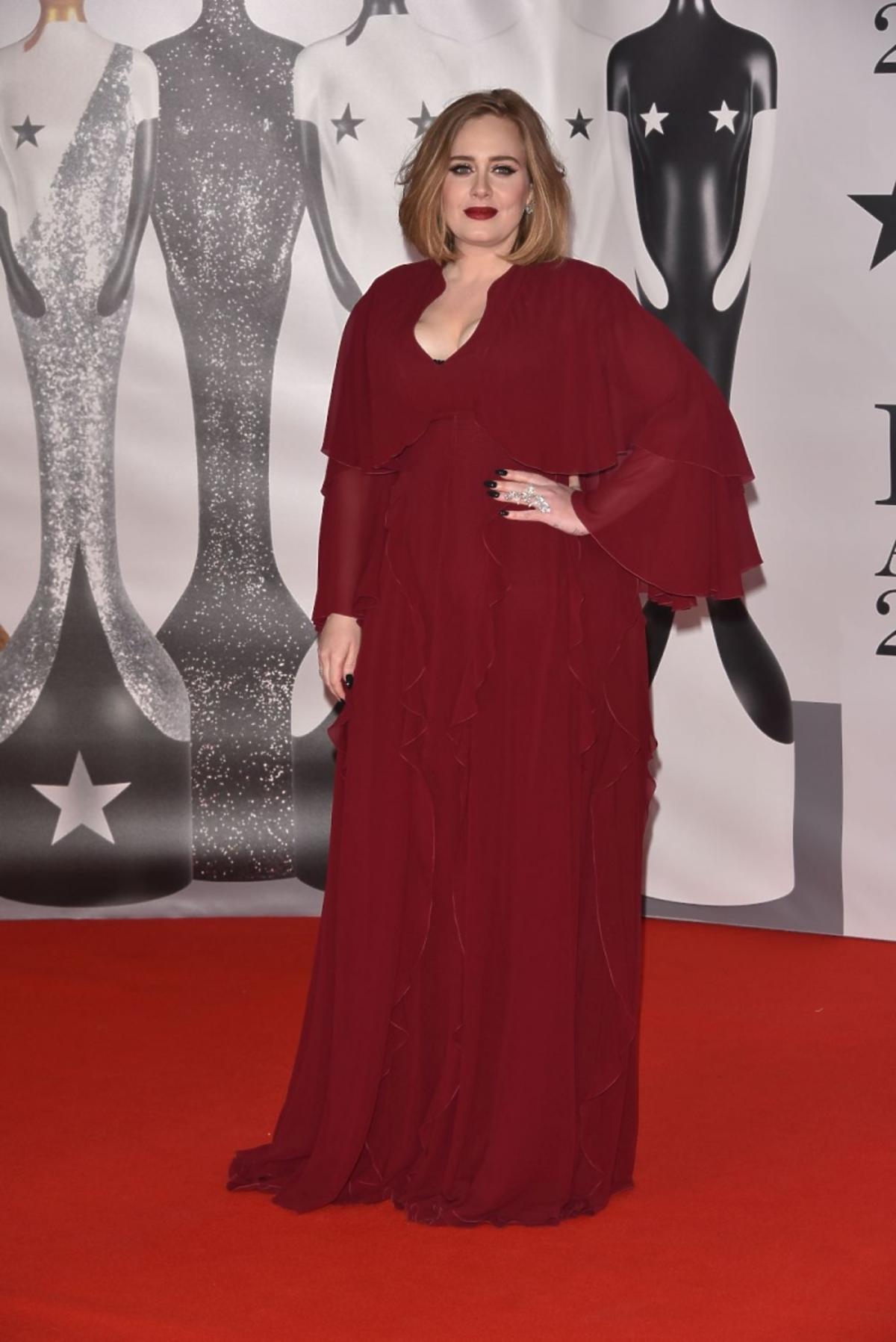 Adele na Brit Awards 2016