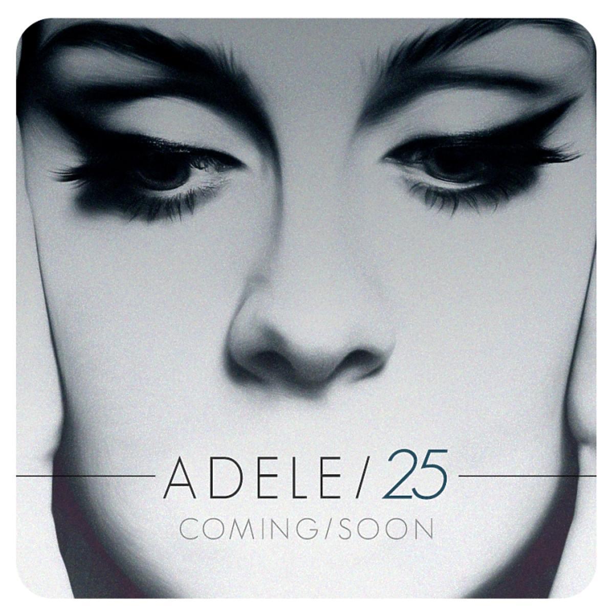 Adele na okładce nowej płyty