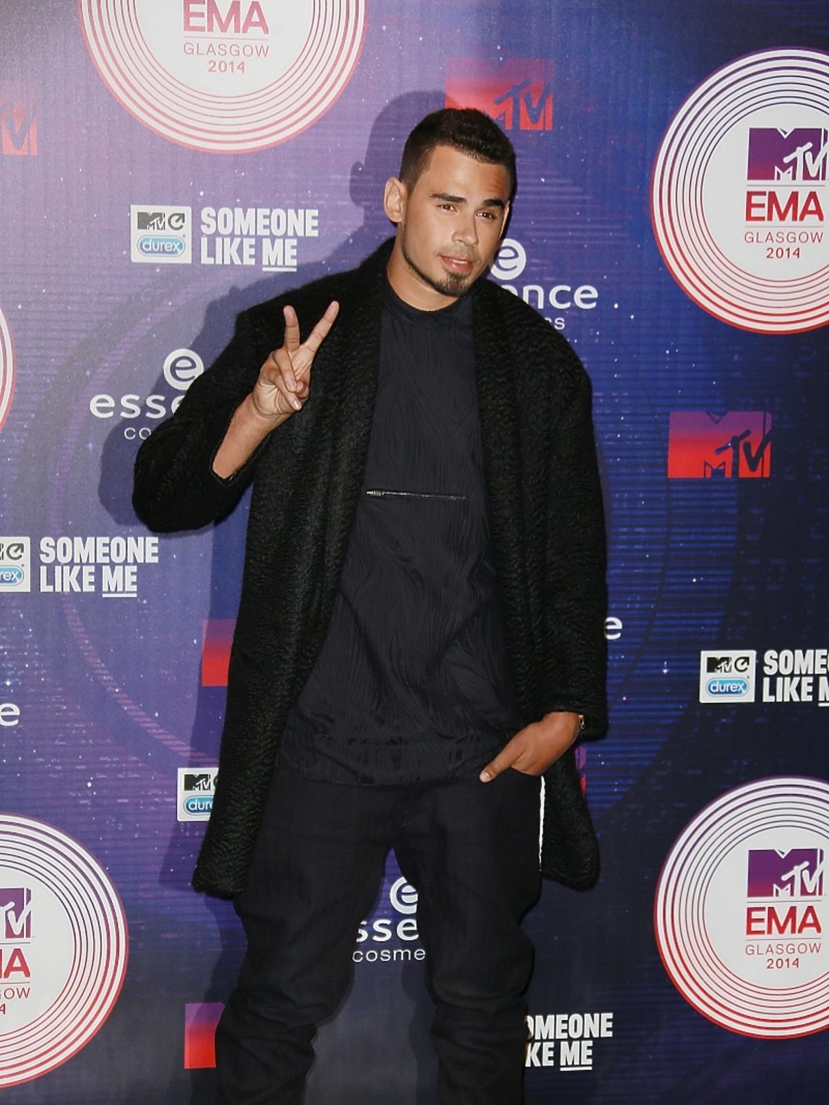 Afrojack na MTV EMA 2014 w Glasgow