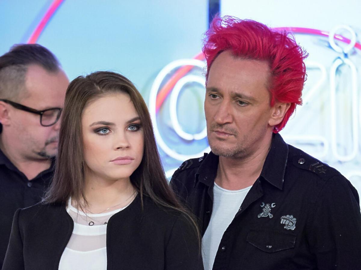 Agata Buczkowska i Michał Wiśniewski w Dzień Dobry TVN