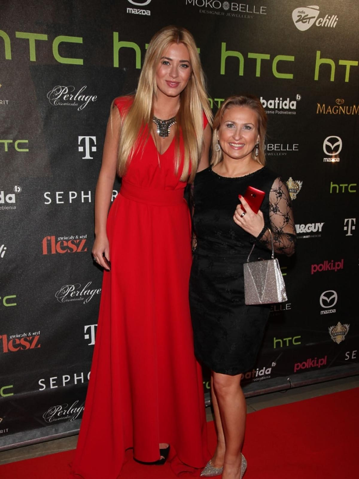 Agata Cichowicz z Marceliną Zawadzka HTC