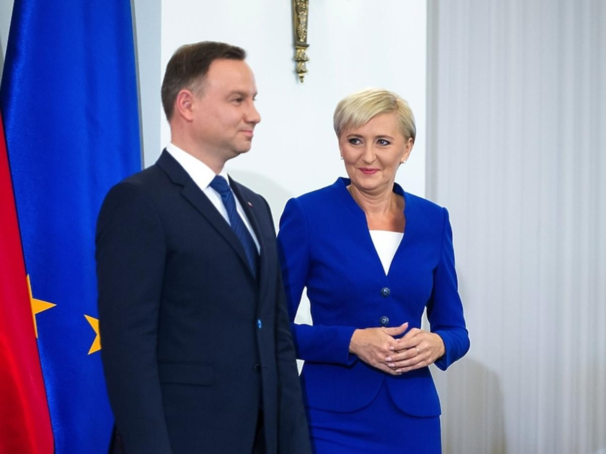 Agata Duda, Andrzej Duda