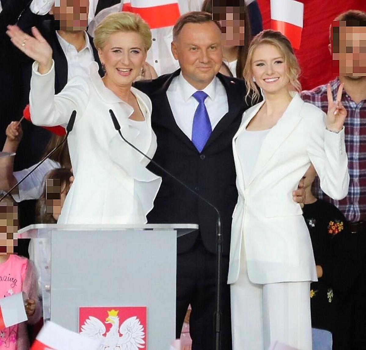 Agata Duda i Małgorzata Trzaskowska