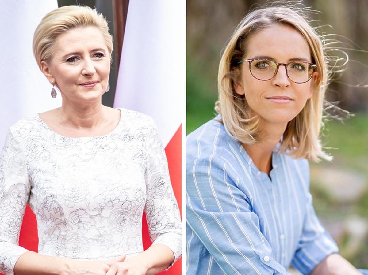 Agata Duda i Małgorzata Trzaskowska na Instagramie