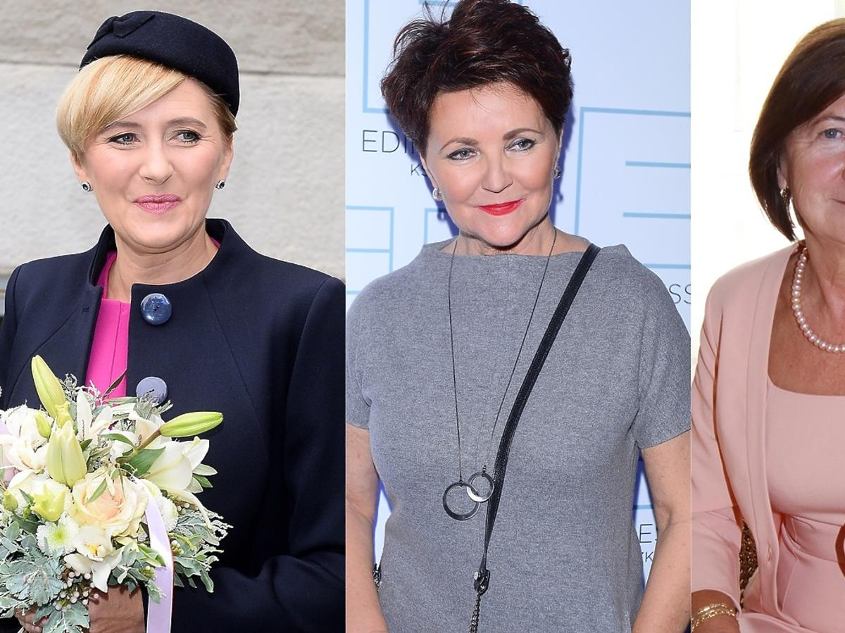 Agata Duda, Jolanta Kwaśniewska, Maria Kaczyńska