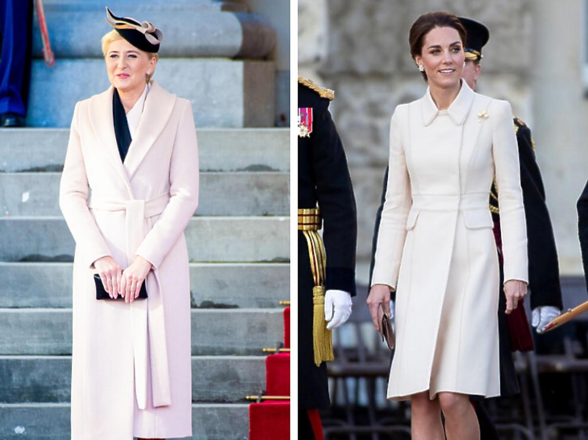 Agata Duda nasladuje styl księżnej KAte