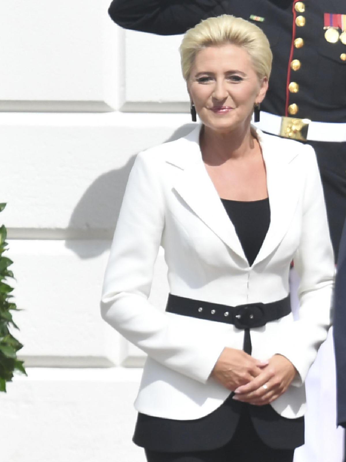 Agata Duda w Białym Domu