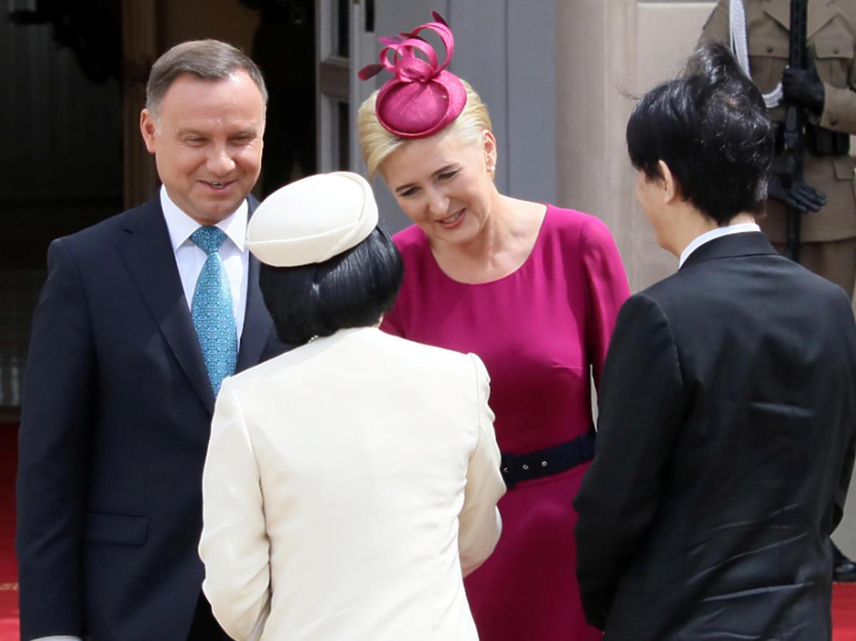 Agata Duda wita japońskiego następcę tronu