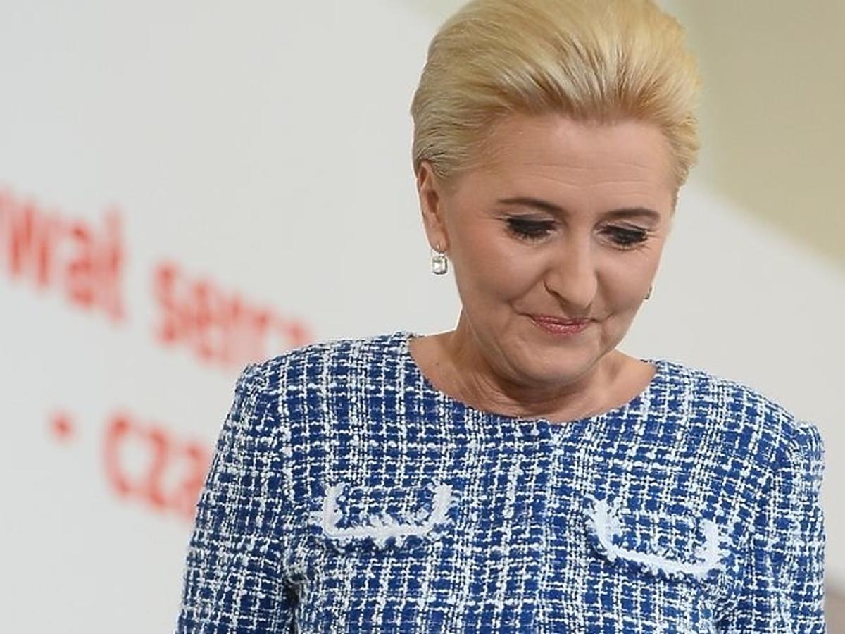 """Agata Duda wzięła udział w debacie """"Zawał serca-czas to życie"""""""