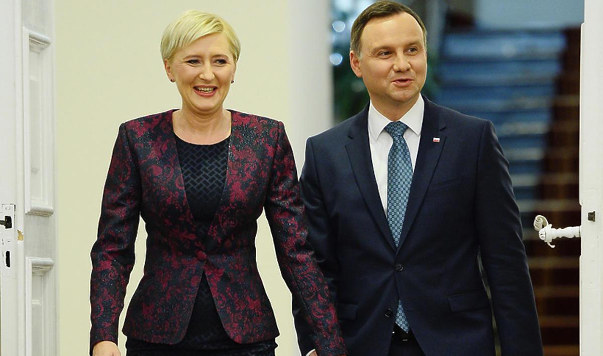 Agata i Andrzej Dudowie wspierają WOŚP