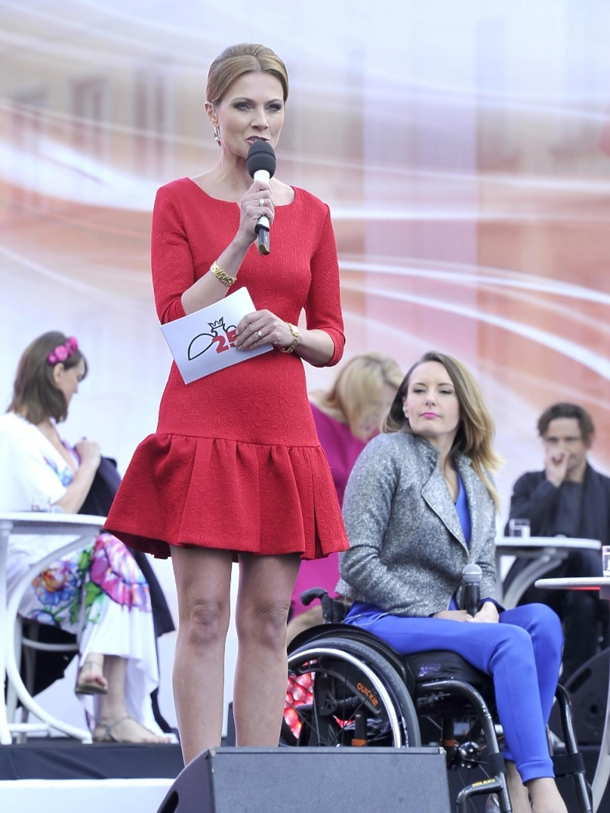 Agata Konarska na koncercie 25-lecia Wspólnoty Polskiej