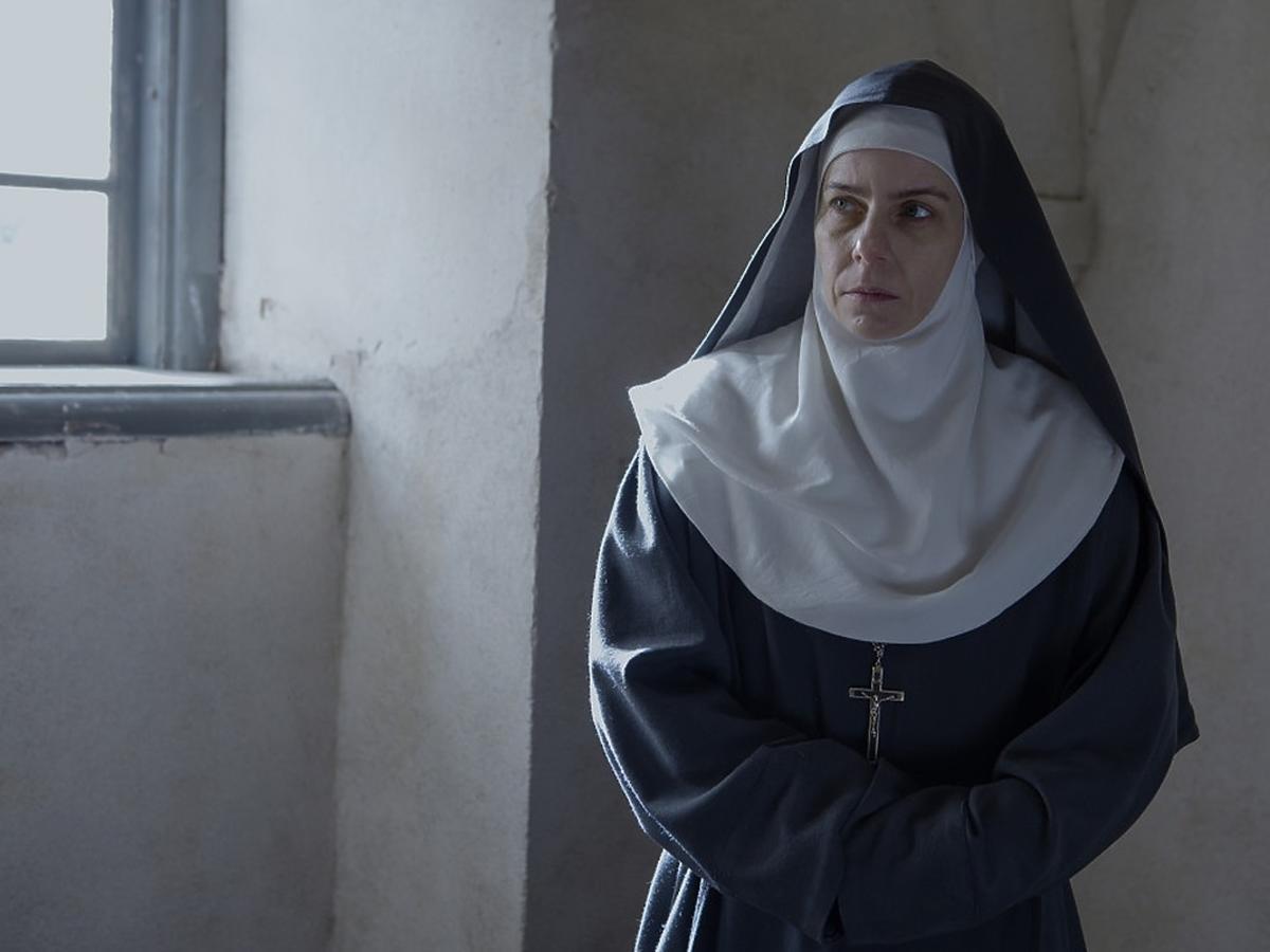Agata Kulesza jako zakonnica