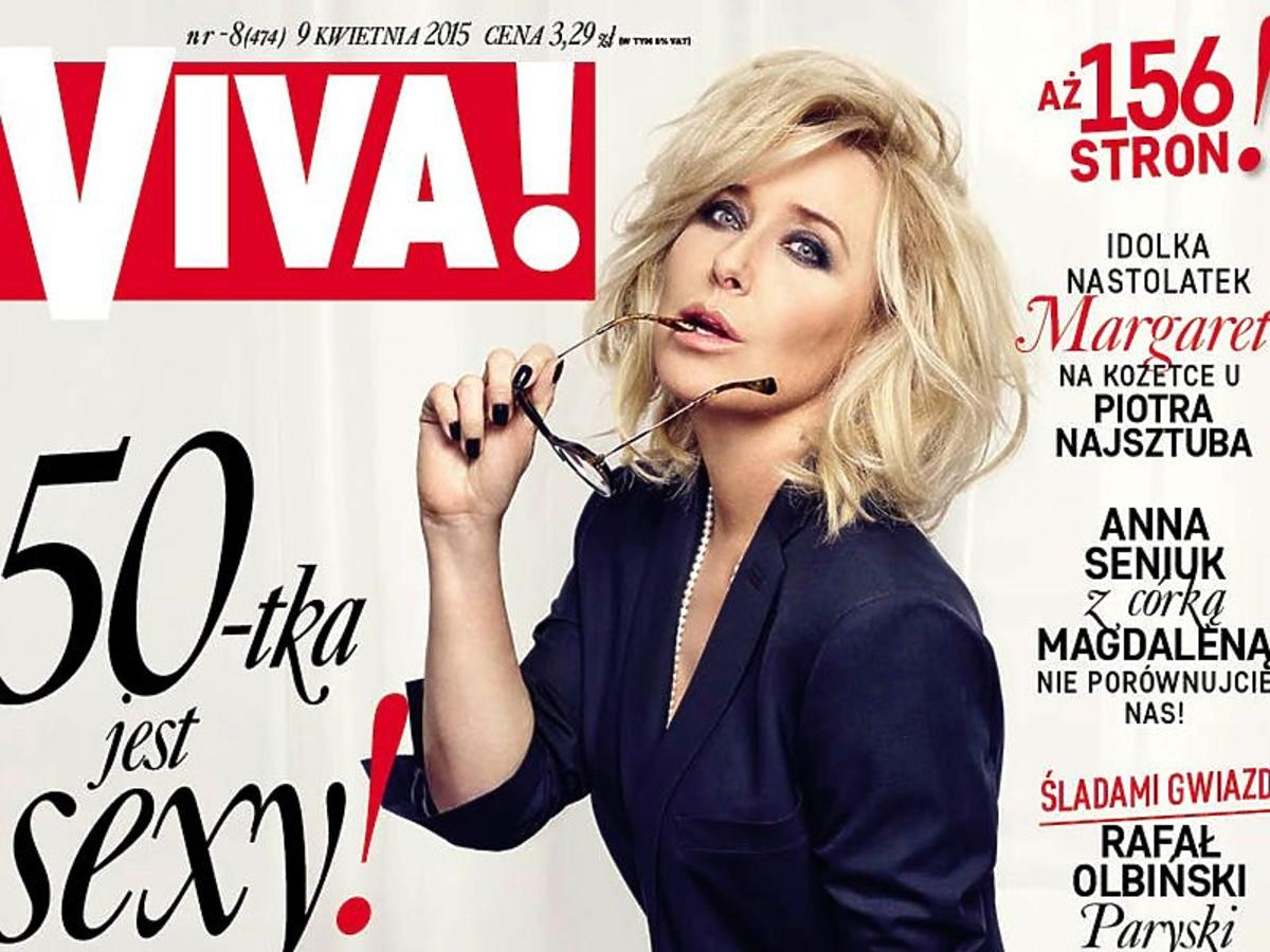 Agata Młynarska na okładce Vivy