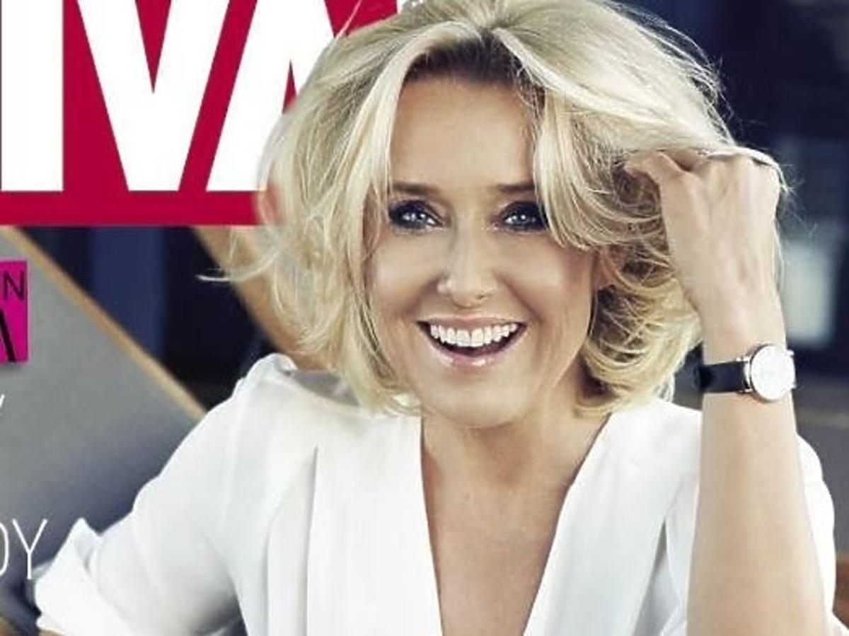"""Agata Młynarska na okładce """"Vivy!"""""""