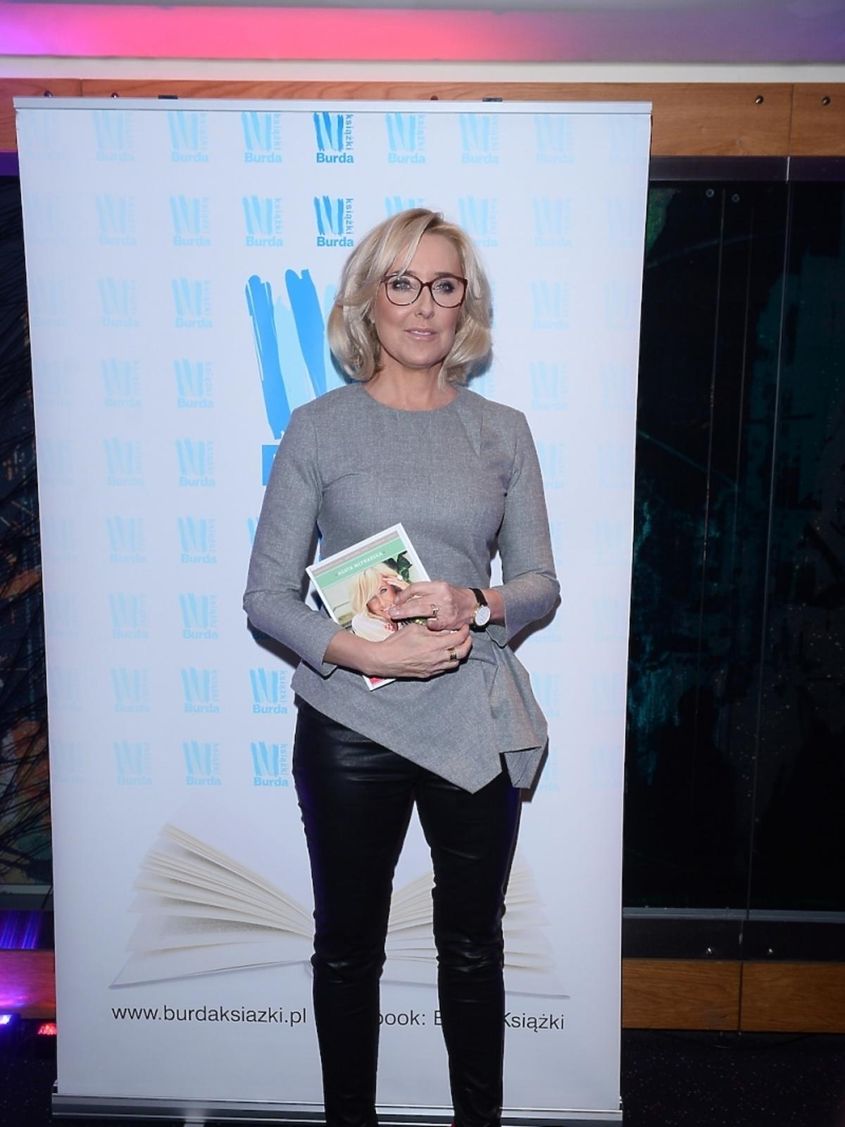 Agata Młynarska promuje książkę