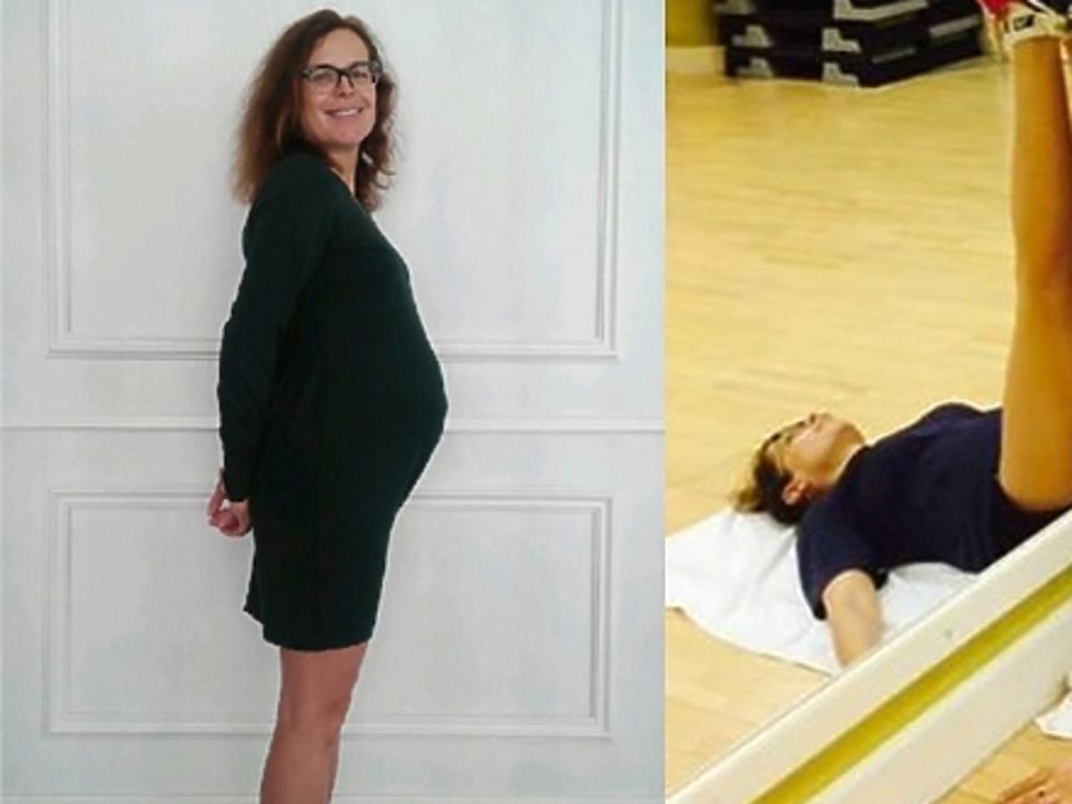 Agata Passent w dziewiątym miesiącu ciąży