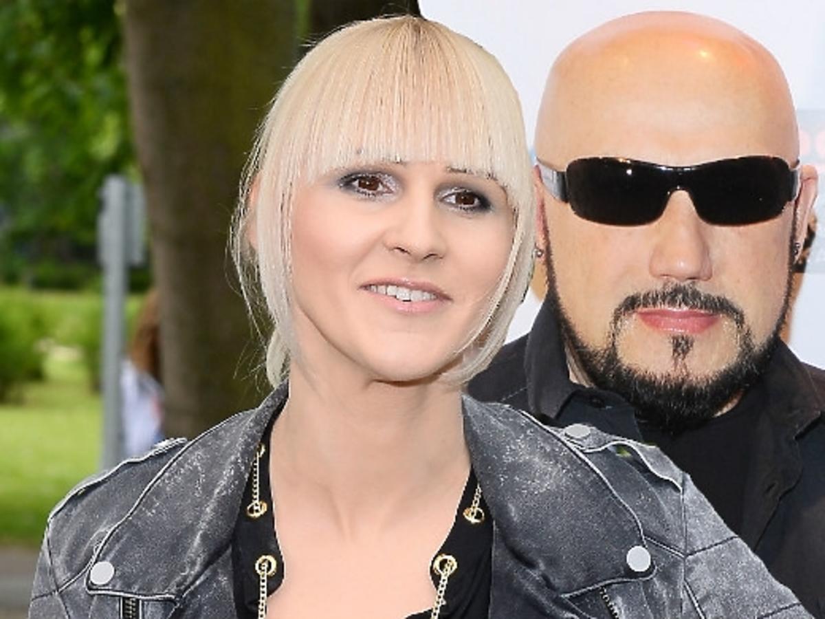 Agnieszka Chylińska i Grzegorz Skawiński na Top Trendy