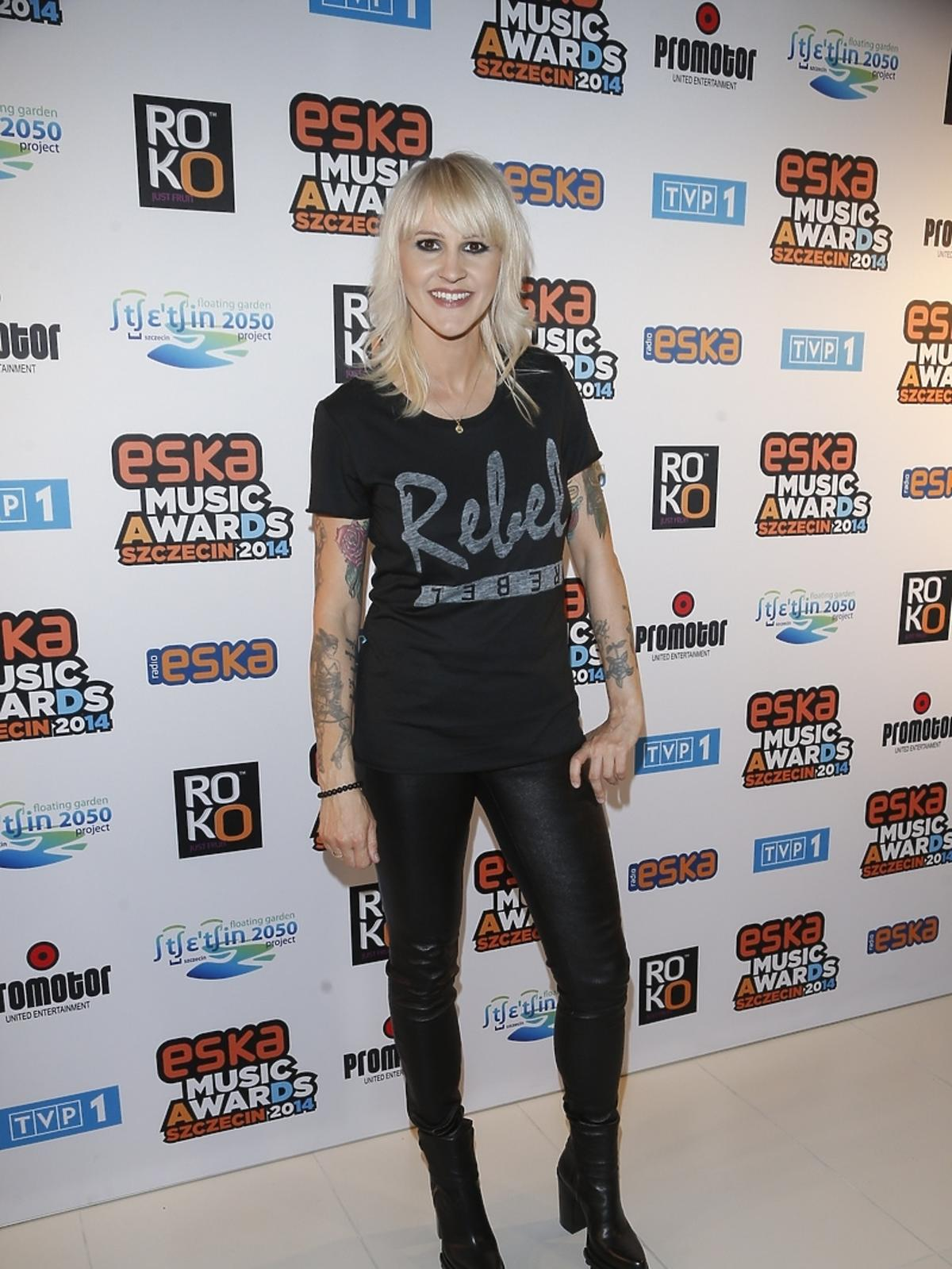 Agnieszka Chylińska na Eska Music Awards 2014