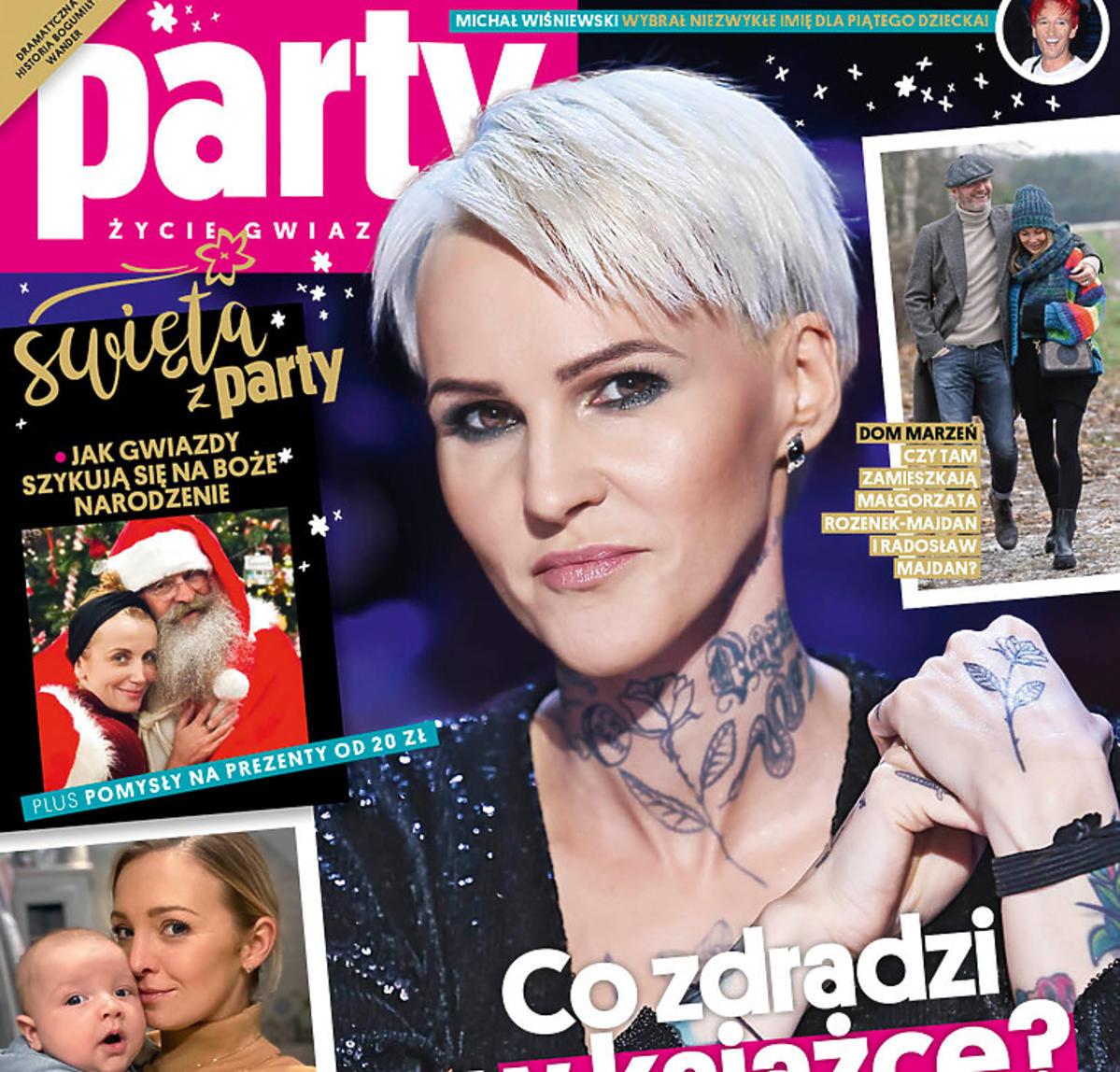Agnieszka Chylińska na okładce