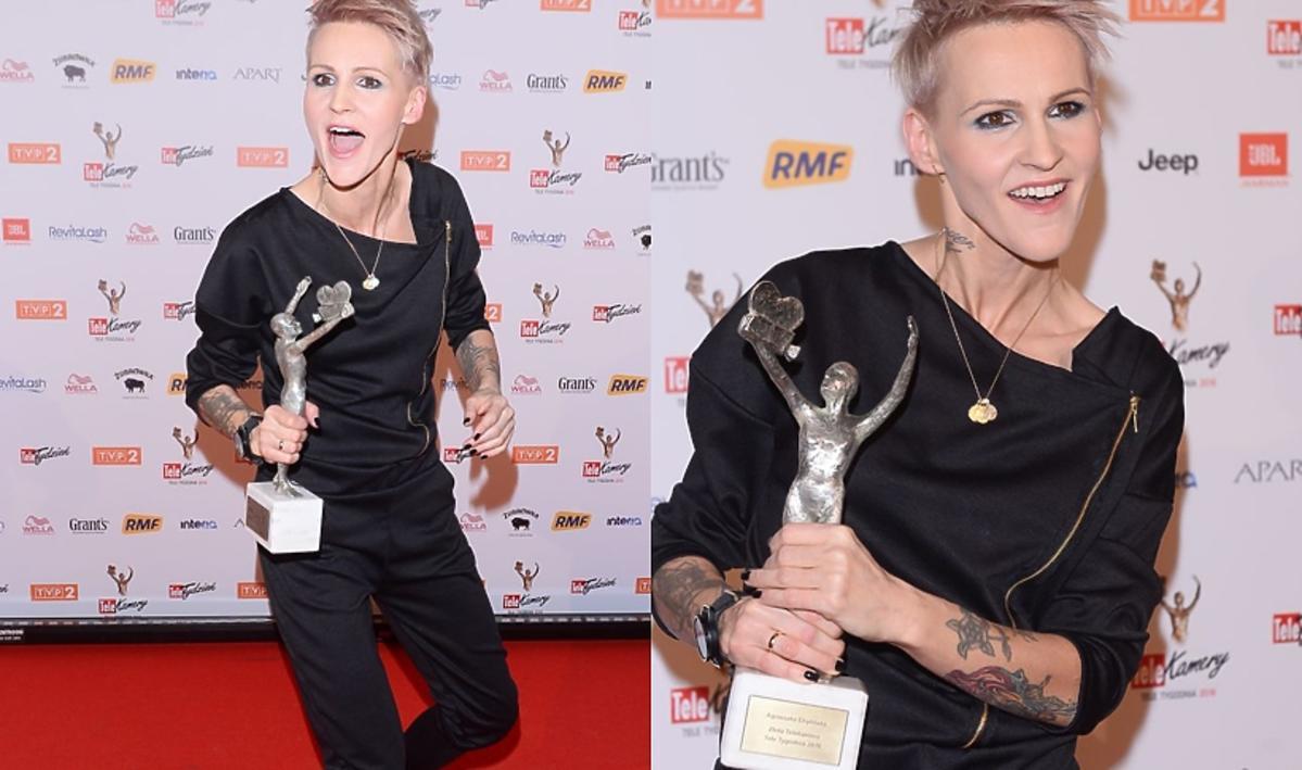 Agnieszka Chylińska na TeleKamerach 2016