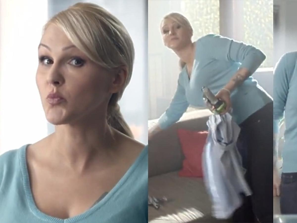 Agnieszka Chylińska w reklamie Aviva