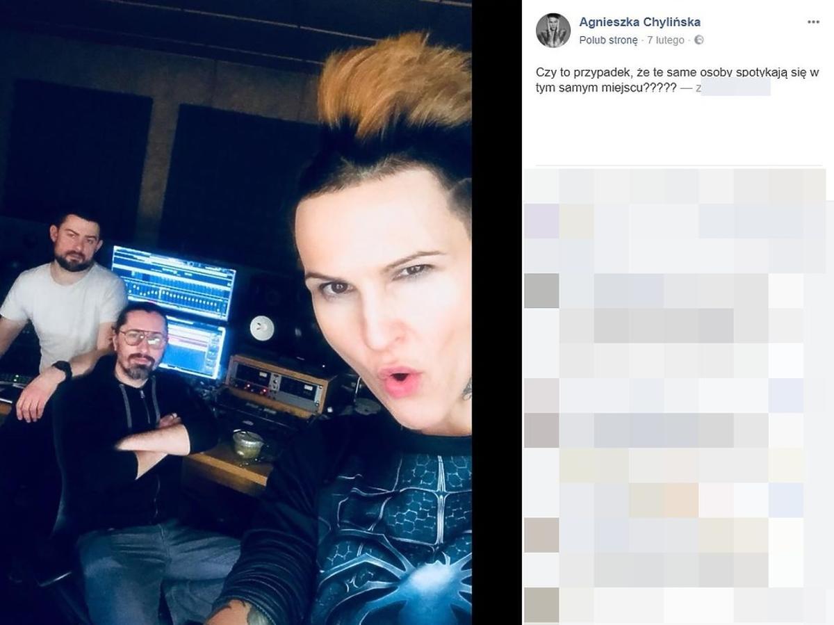 Agnieszka Chylińska zmieniła kolor włosów