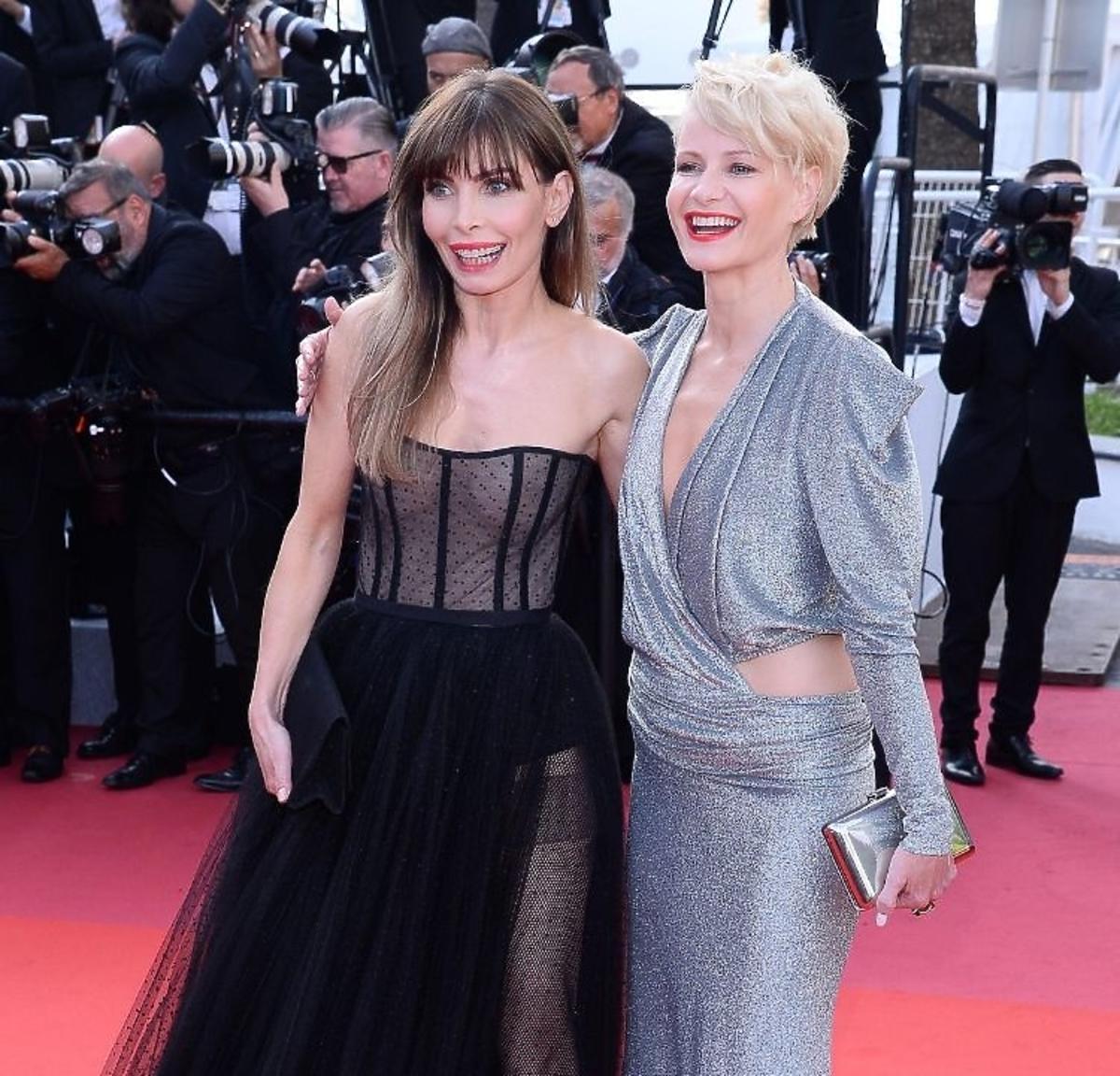Agnieszka Dygant i Małgorzata Kożuchowska  Cannes
