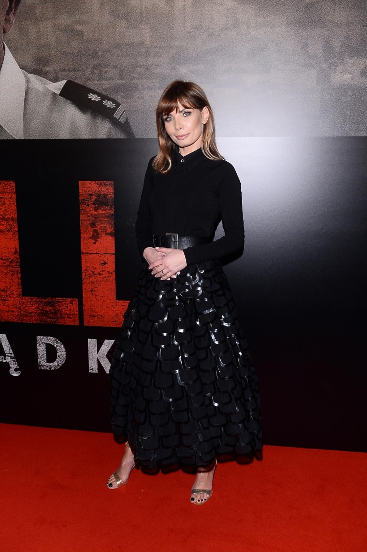 Agnieszka Dygant na premierze filmu