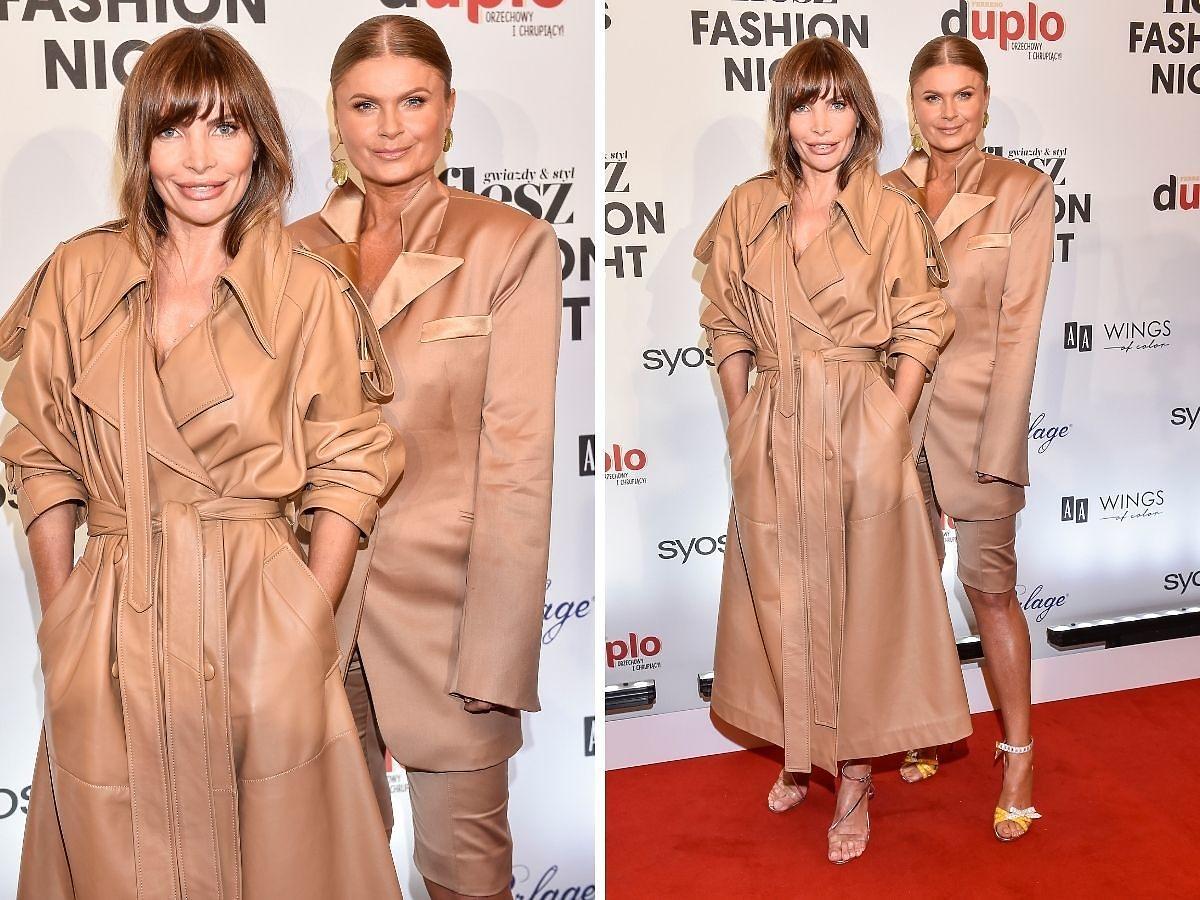 Agnieszka Dygant Viola Piekut na Flesz Fashion Night 2021
