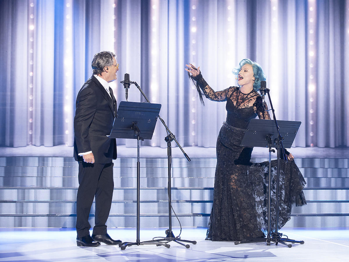 Agnieszka Hekiert i Kris Adamski, jako Lady Gaga i Tony Bennett