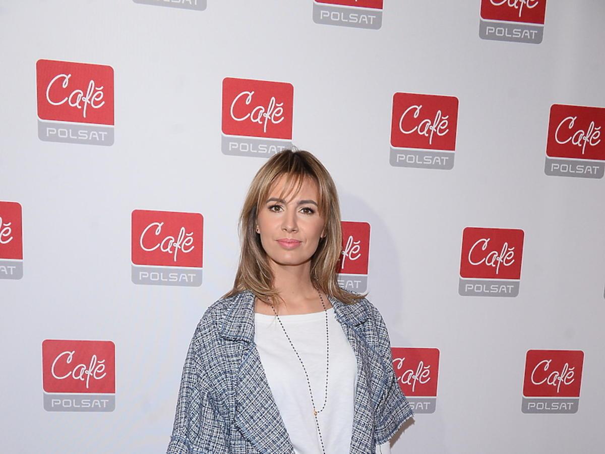 Agnieszka Hyży na prezentacji ramówki Polsat Cafe