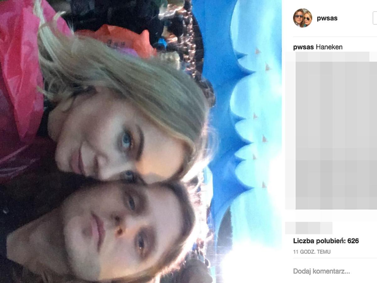 Agnieszka i Piotr Woźniakowie Starakowie na Open'er Festival