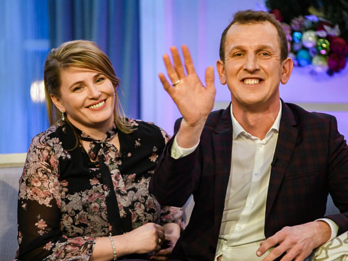 Agnieszka i Roberta na planie programu Rolnik szuka żony
