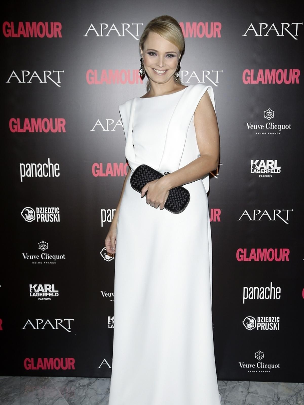 Agnieszka Jastrzębska na Kobieta Roku Glamour 2014