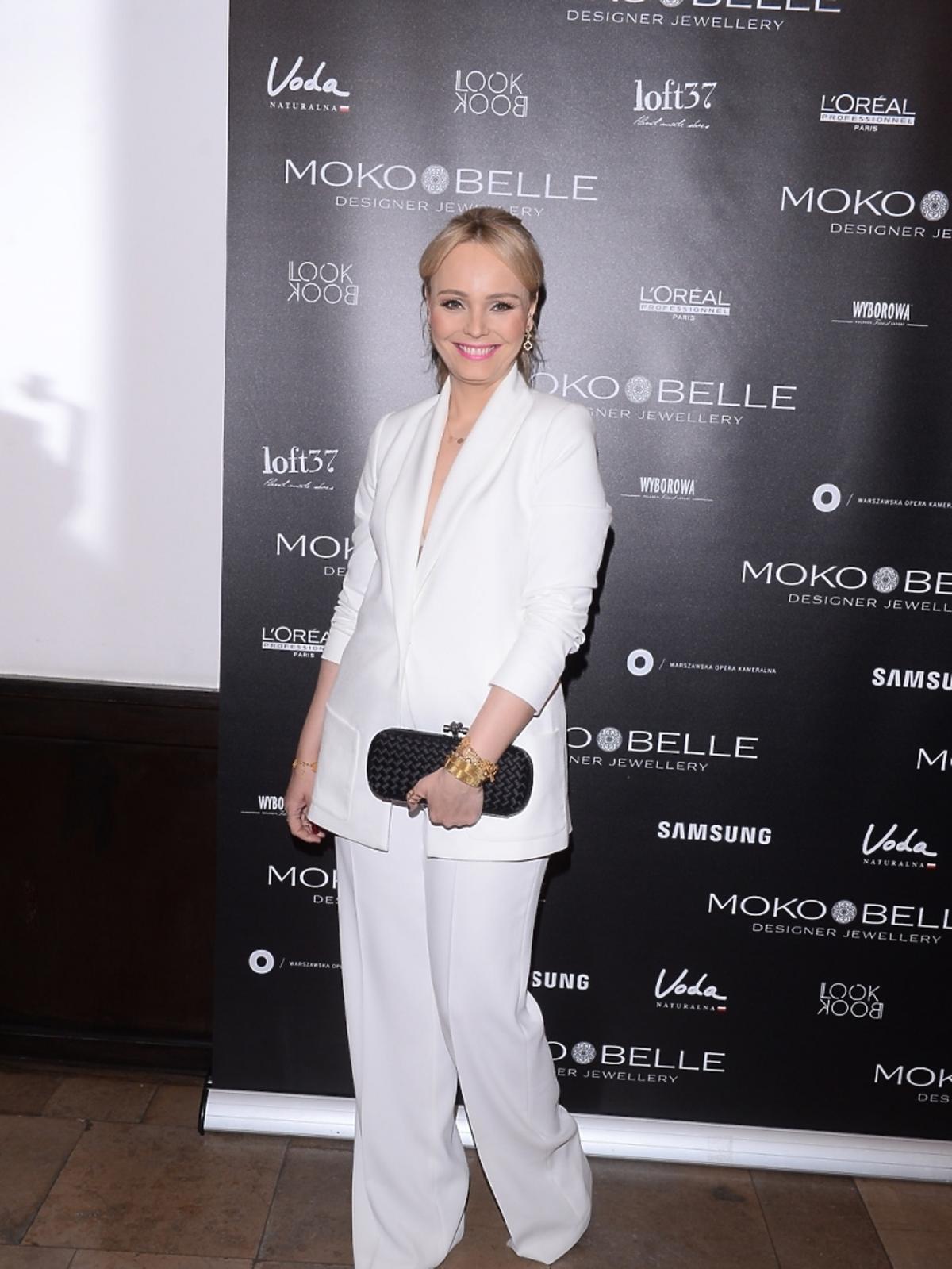 Agnieszka Jastrzębska na pokazie Mokobelle