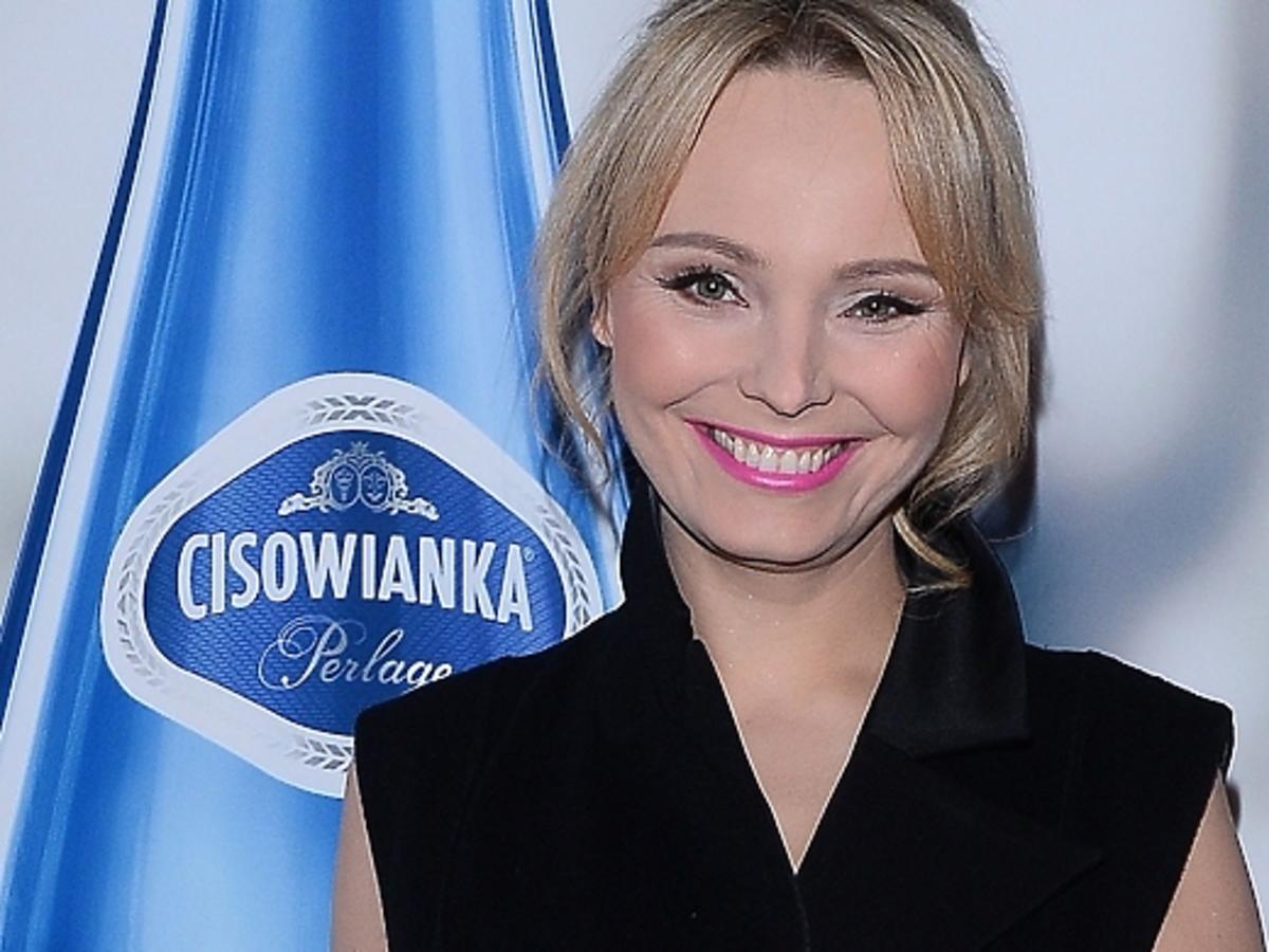 Agnieszka Jastrzębska na pokazie Paprocki&Brzozowski