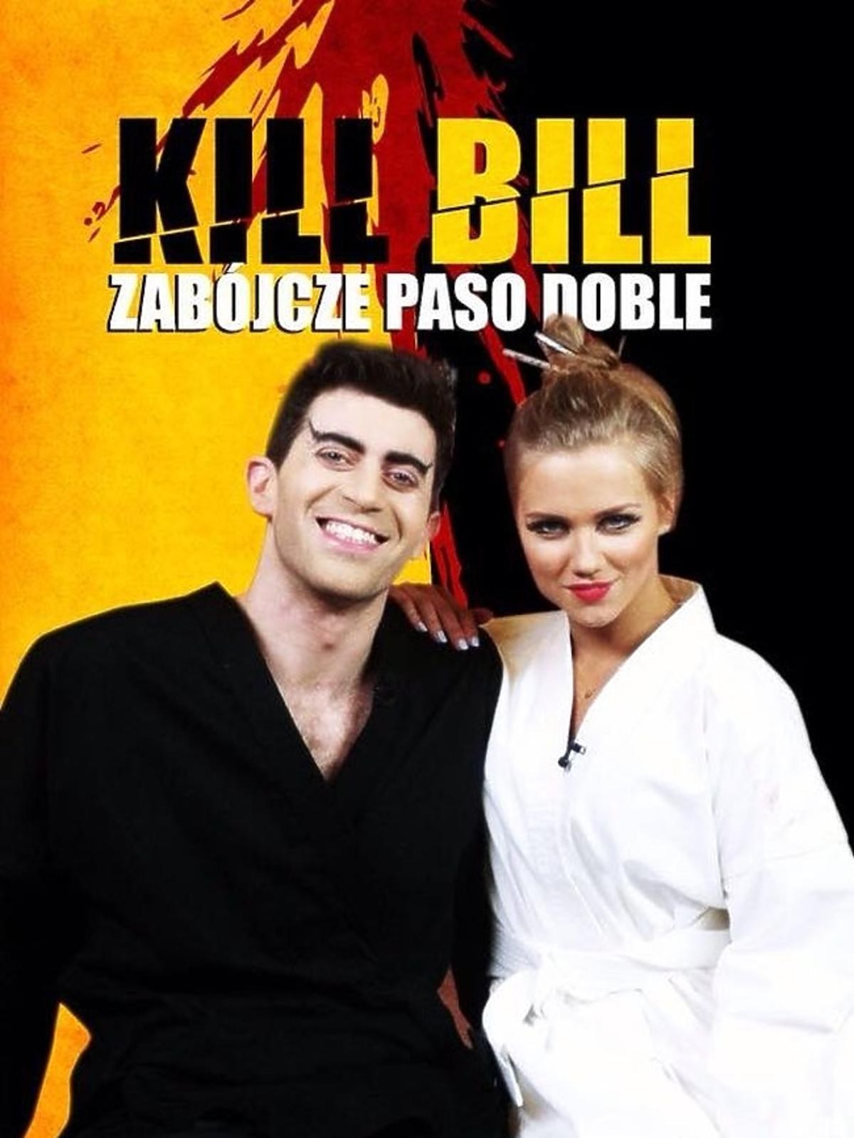 Agnieszka Kaczorowska i Krzysztof Wieszczek na plakacie filmowym
