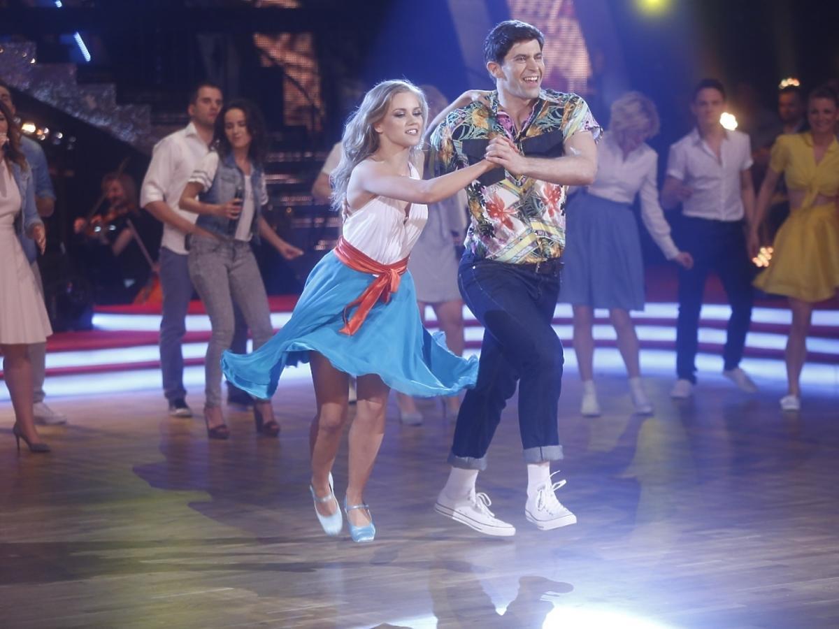 Agnieszka KAczorowska i Krzysztof Wieszczek w półfinale Tańca z Gwiazdamia