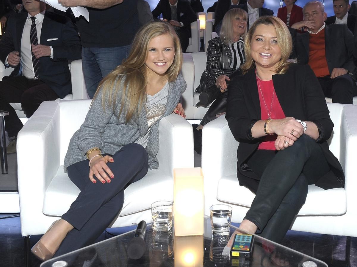 Agnieszka Kaczorowska i Małgorzata Ostrowska Królikowska na