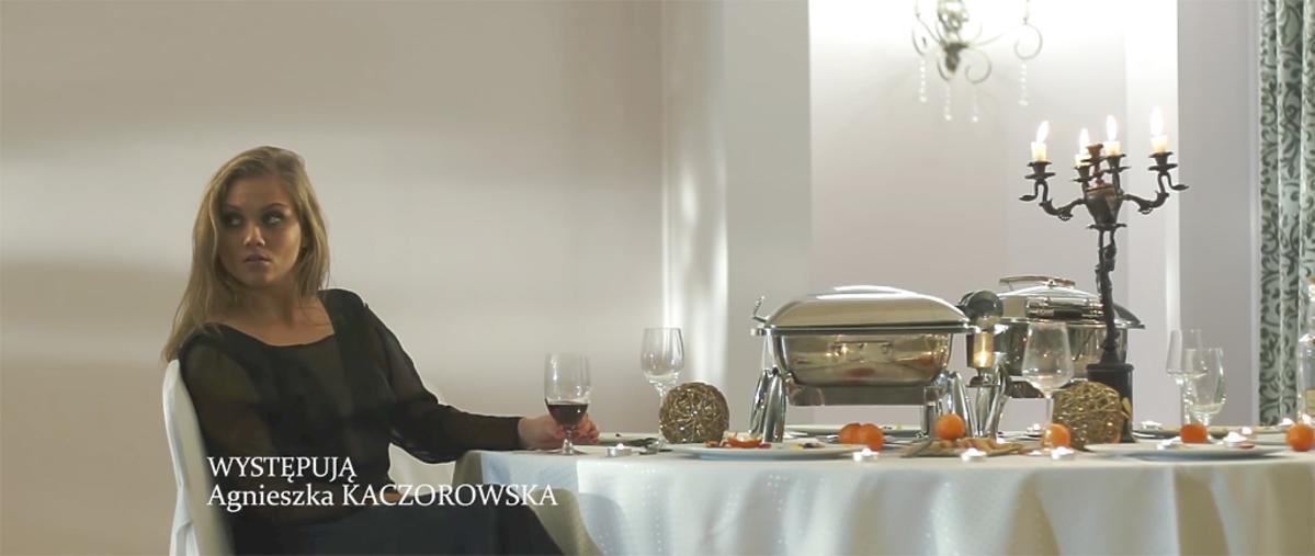 Agnieszka Kaczorowska - kadr z filmu
